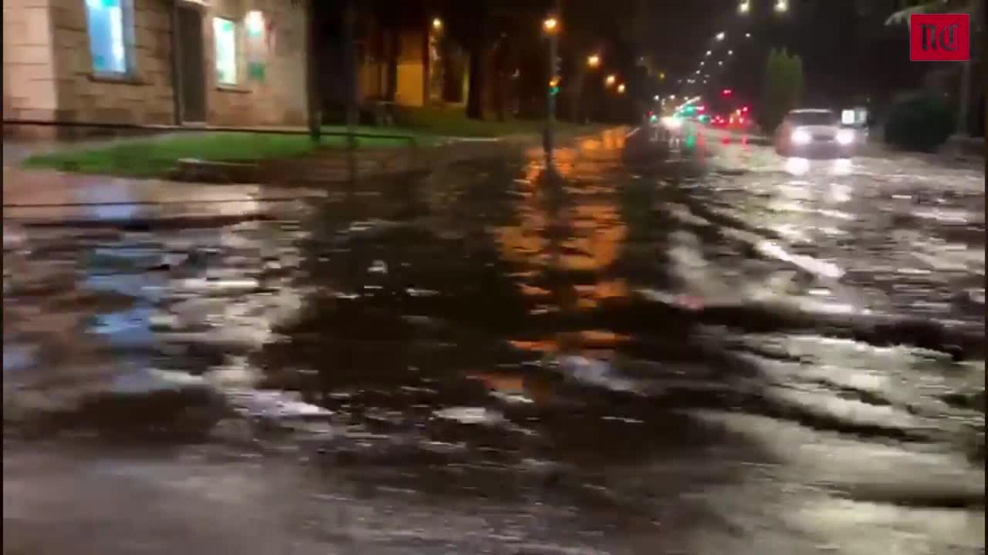 Tormenta en Valladolid