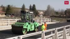Concluye la ampliación del puente sobre el río Eresma en la carretera CL-607 a su paso por Segovia