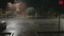Efectos de la tormenta en Ataquines