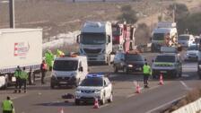 Accidente con tres fallecidos en Tordesillas, Valladolid