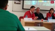 Declaraciones del Alcalde de Villafrechós en una jornada sobre inmigración de la UVa