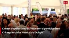 El Norte de Castilla brinda con la sociedad de Palencia en su caseta de las fiestas