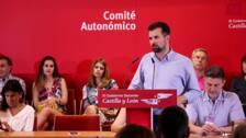 Tudanca acusa a Mañueco de usar Castilla y León