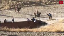 Muere un vecino de Cuéllar de 61 años corneado por un toro en el último encierro