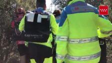 Accidente ciclista en Madrid