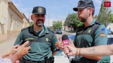 La Guardia Civil de Rioseco ayuda a dar a luz a una mujer en plena calle