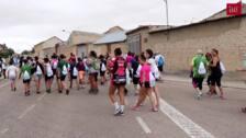 Marcha contra el cancer en Wamba