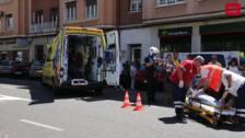Atropellada una mujer de 72 años en la plaza de San Lázaro de Palencia