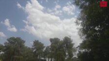 Medios aéreos en el incendio entre Sardón y Traspinedo