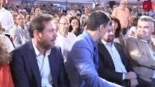 Pedro Sánchez en la Cúpula del Milenio
