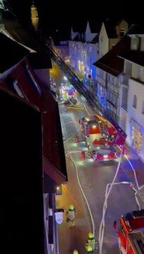 Brand in der Kurzen-Geismar-Straße