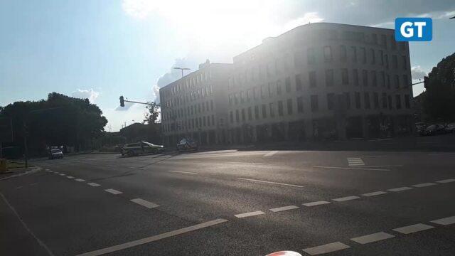 Polizei schießt in der Göttinger Innenstadt auf flüchtendes Auto