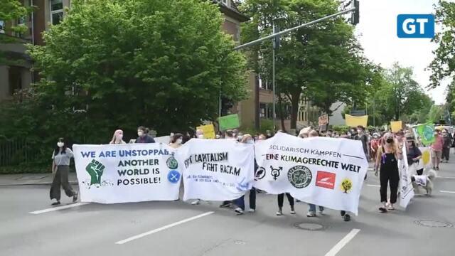 Klimaprotest in Göttingen: Fridays for Future, Ende Gelände und Co. gegen neue Autobahnen