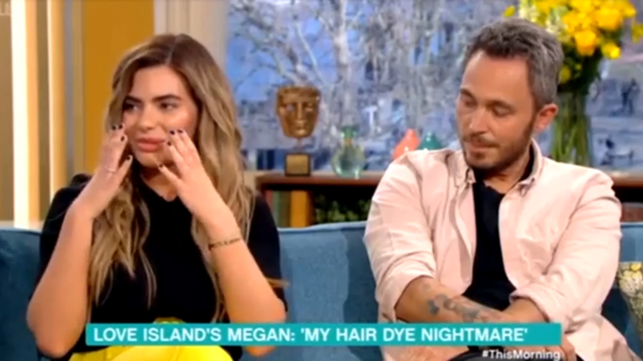 Megan Barton Hanson opens up after being hospitalised over severe allergic reaction to hair dye
