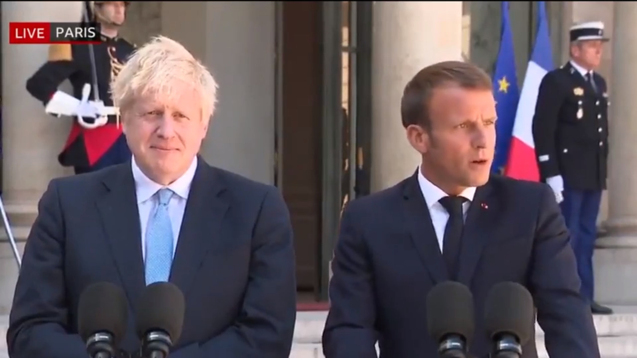 Brexit news latest: Emmanuel Macron warns Boris Johnson there'll be no big concessions to avert no-deal