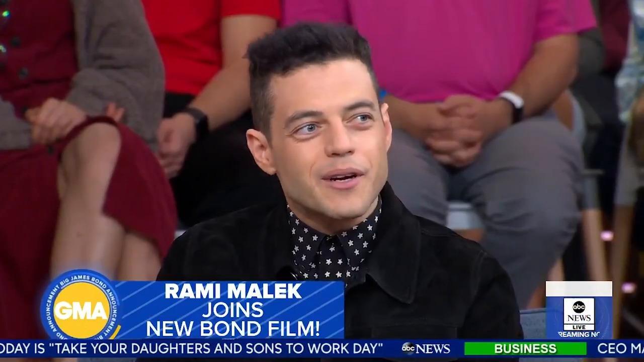 Bond villain Rami Malek CONFIRMS Daniel Craig's last film as he promises 'to give him a run for his money'