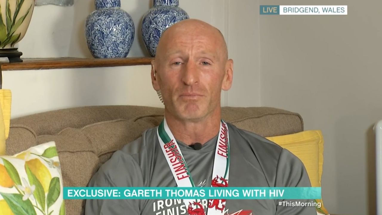 Gareth Thomas admits fearing his brother would not let him hug his niece after HIV diagnosis