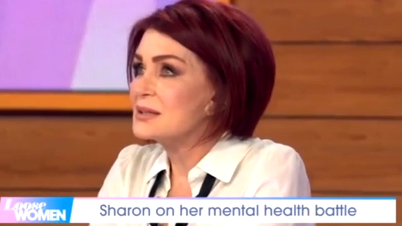 Sharon Osborne fights back tears as she reveals Ozzy saved her from suicide