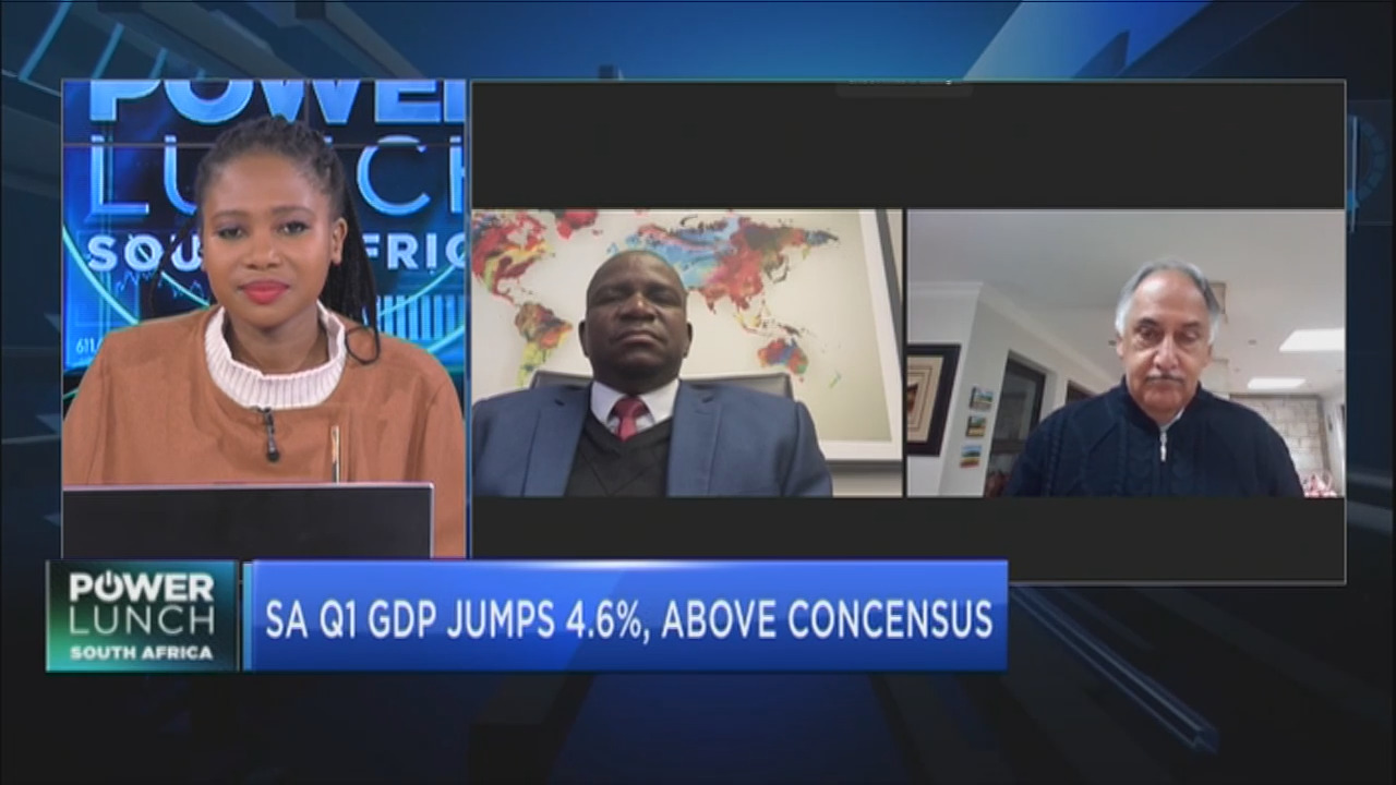 South Africa's first quarter GDP jumps 4.6%, above consensus