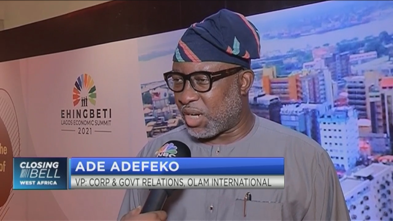 #LagosEconomicSummit2021: Olam regrouping for opportunities in the market