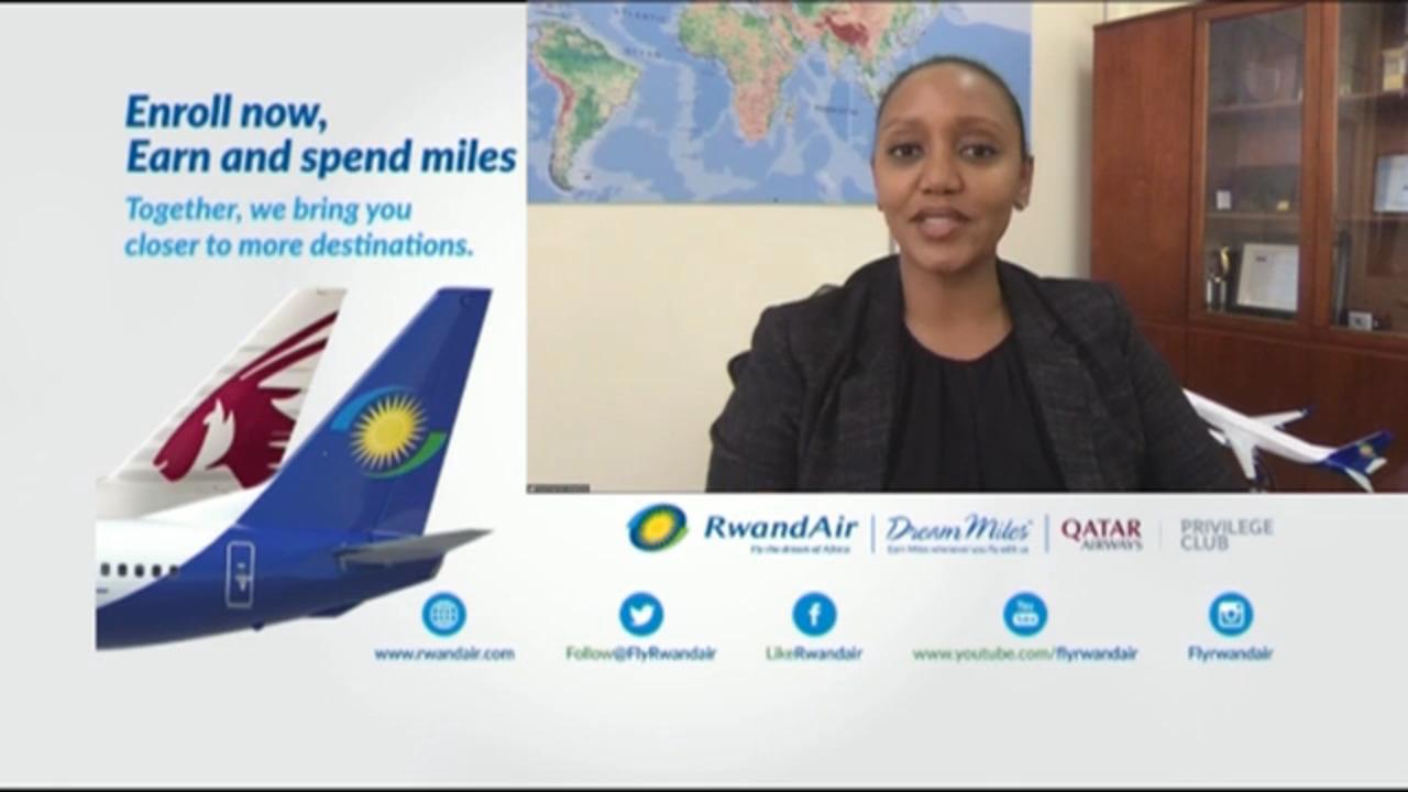 CEO Yvonne Makolo discusses Rwandair partnership with Qatar Airways