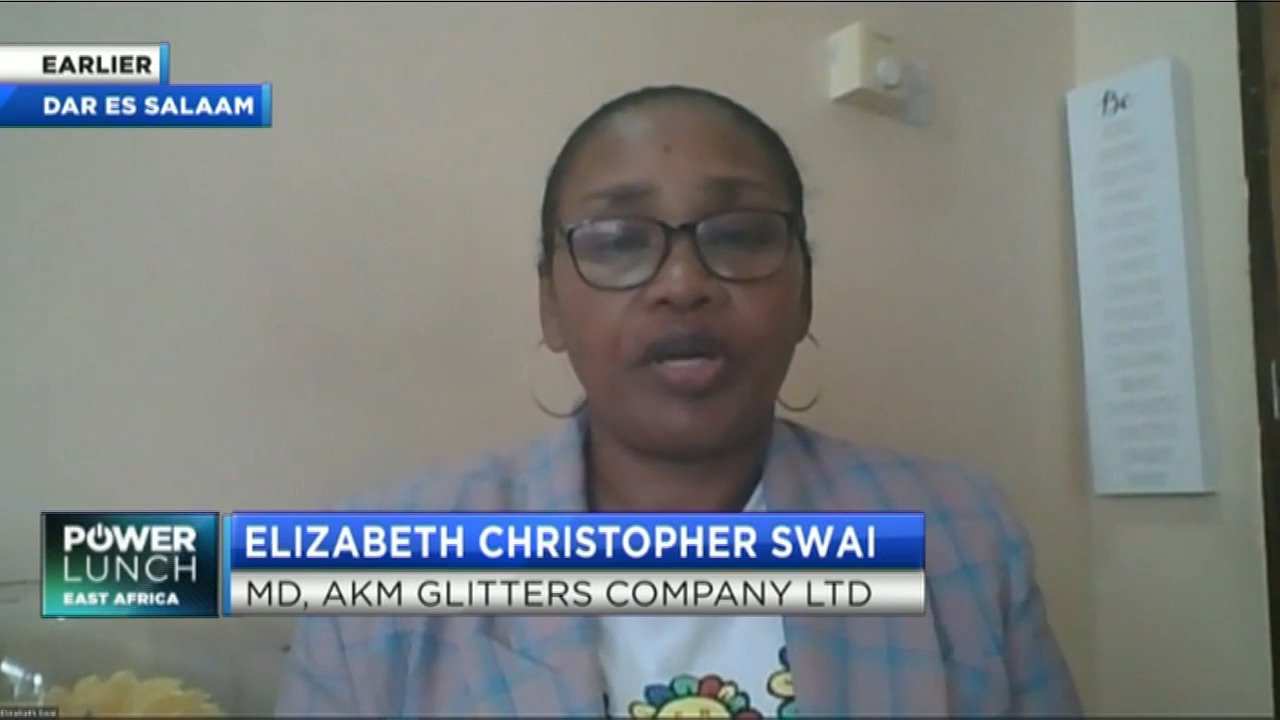AKM Glitters Founder, Swai on how to reduce Tanzania's dependence on Agri-imports