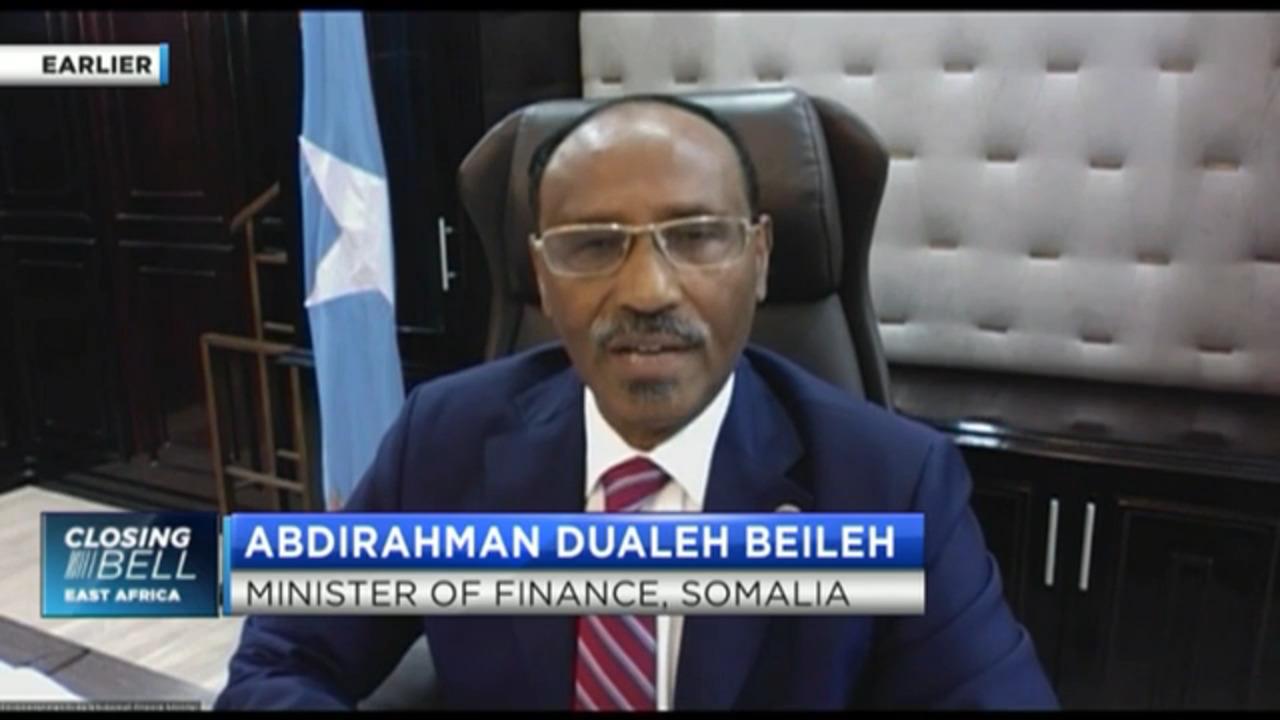 Finance Minister Abdirahman Beileh on Somalia's economic outlook