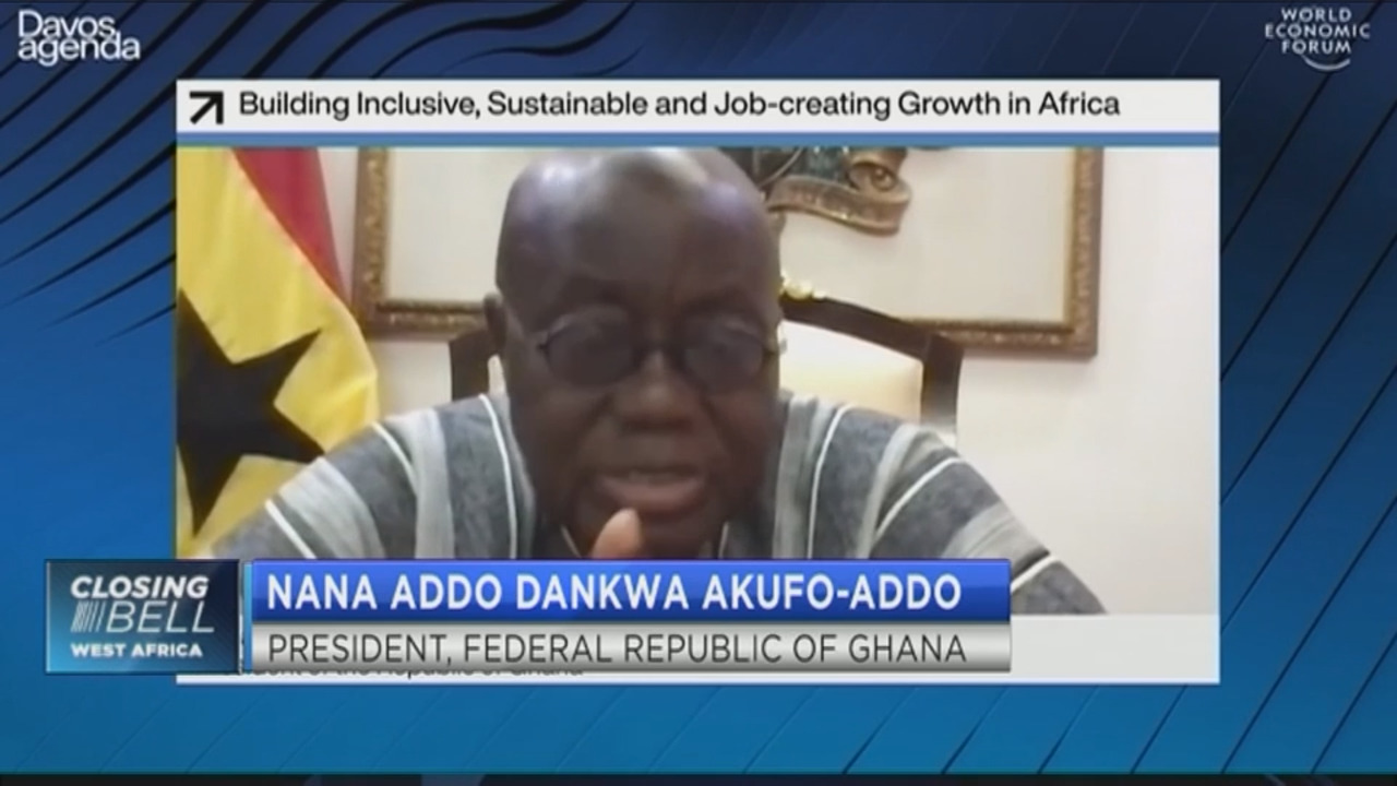 #Davos2021: Nana Akufo-Addo on how to prevent illicit outflows from Africa