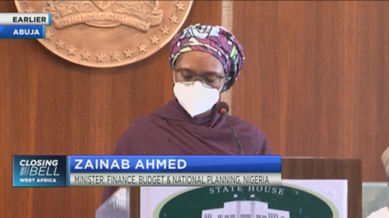 Nigeria's Finance Minister Ahmed: Nigeria's debt still within sustainable limits