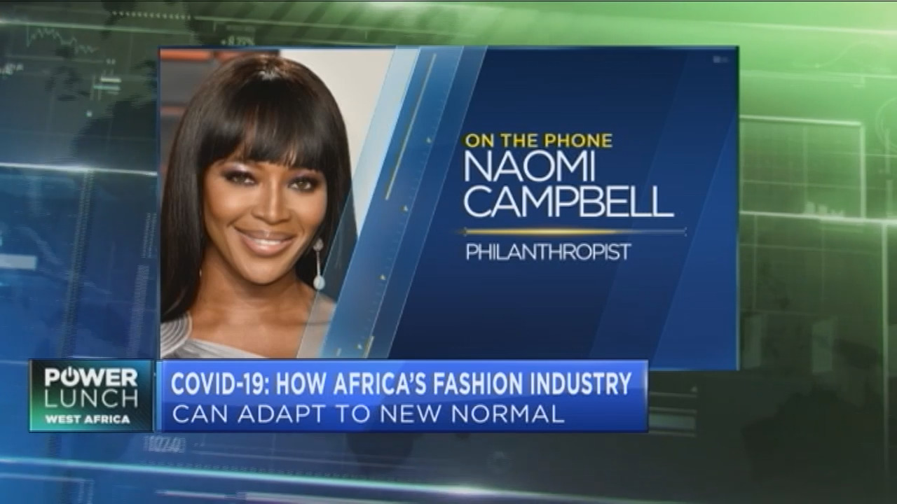Noami Campbell: I want to see the fashion world embrace African designers