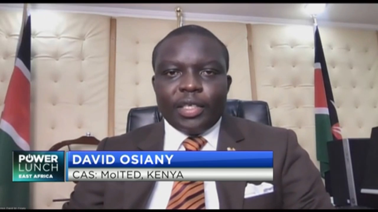 David Osiany speaks on the state of trade & industry in Kenya during COVID-19