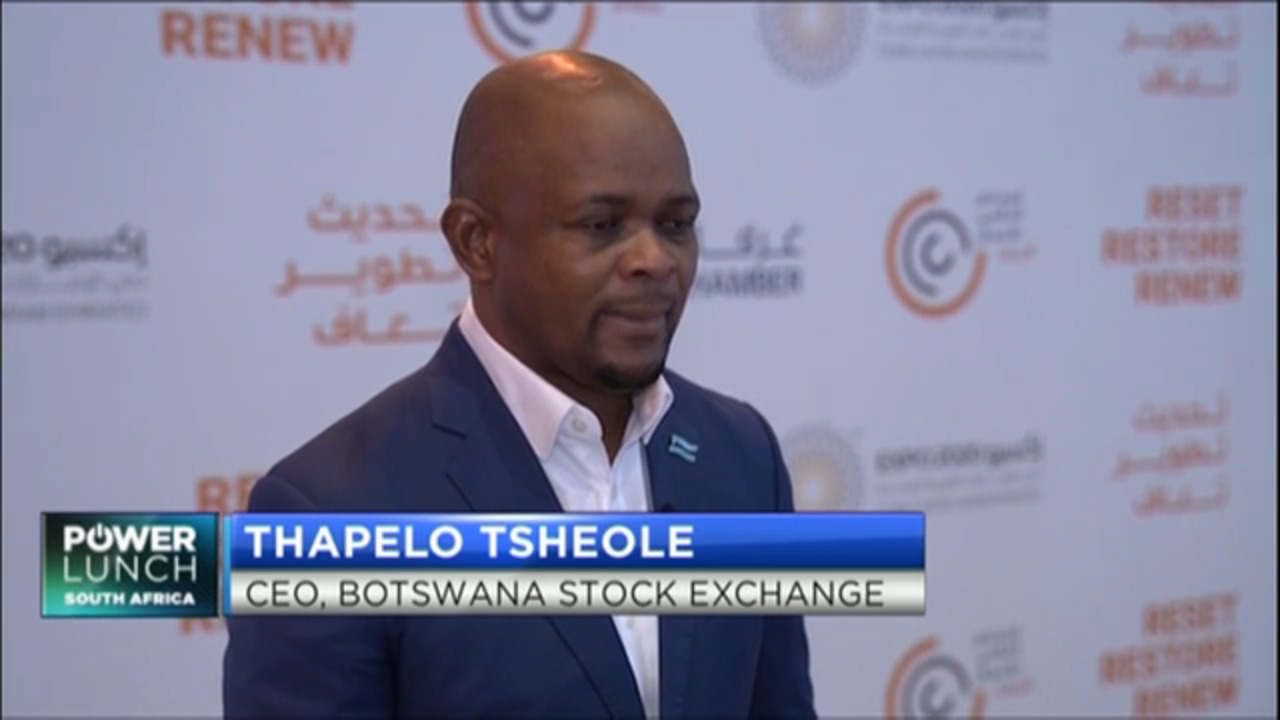 BSE CEO Thapelo Tsheole on what makes the bourse attractive to UAE investors