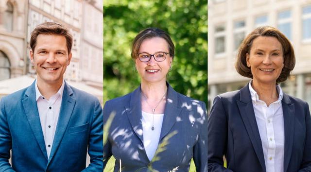 Wahl zum Regionspräsidenten: Die drei aussichtsreichsten Bewerber beim Forum von HAZ und NDR