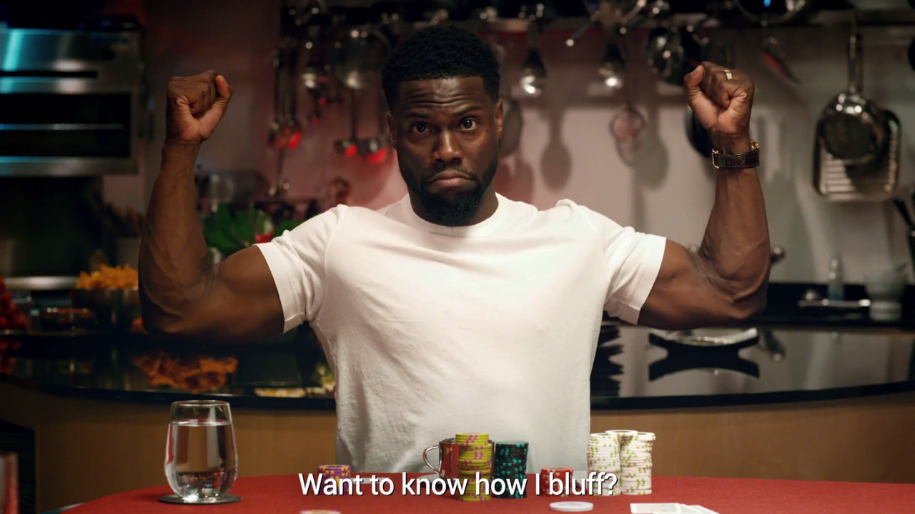 Kevin Hart's How To Play Poker - Episode 3, How to Bluff