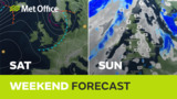 Weekend weather – Dry a…