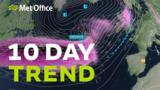 10 Day trend - Storm Denn…