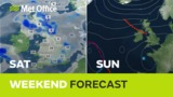 Weekend weather - An east…