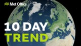 10 Day Trend - Easterly w…