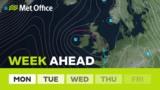 Week Ahead - More rain to…
