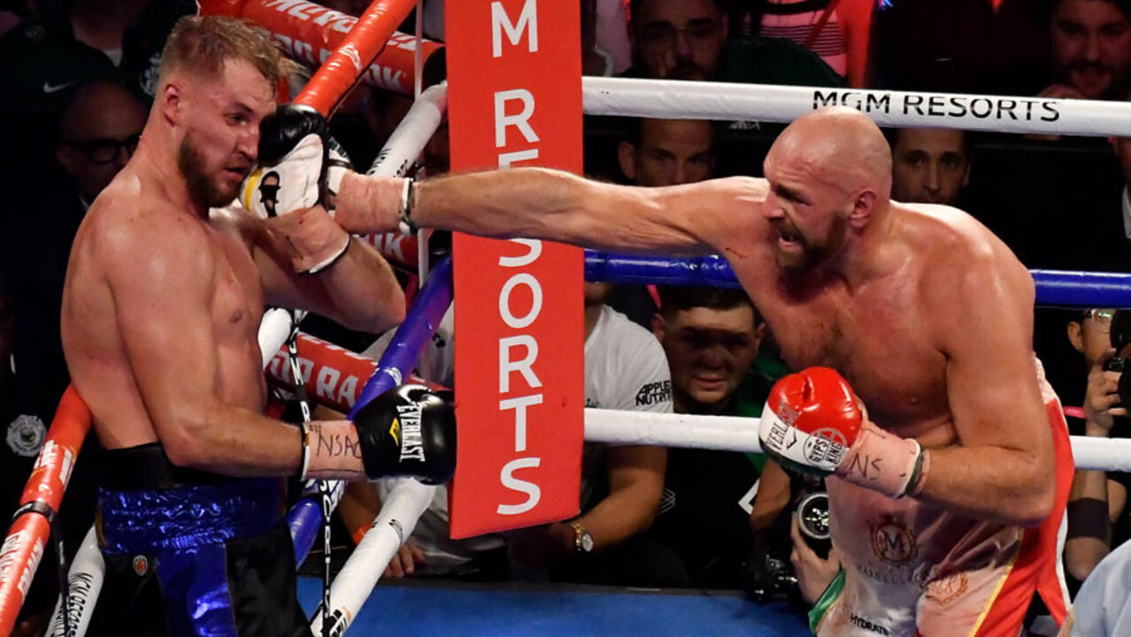 Boxing and MMA's different combat rules