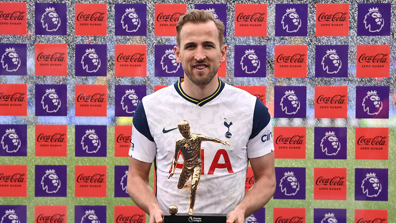 Kane wins double with Golden Boot and Playmaker awards