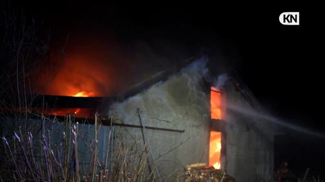 50.000 Euro Schaden bei Stallbrand in Schaalby