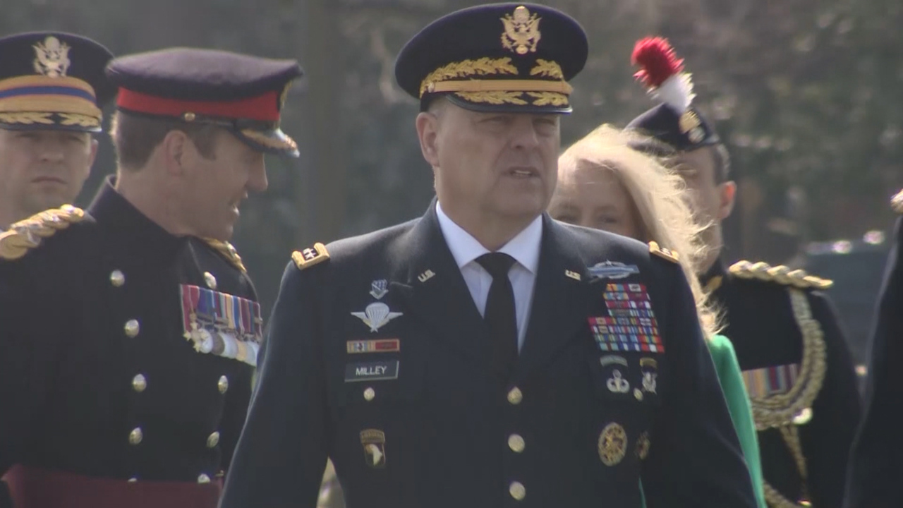 US Army Chief Represents Queen At Sovereign's Parade