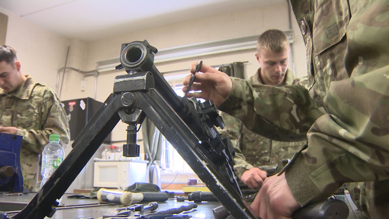 Kitting Out The Army: What Does An Articifer Of Weapons Do?