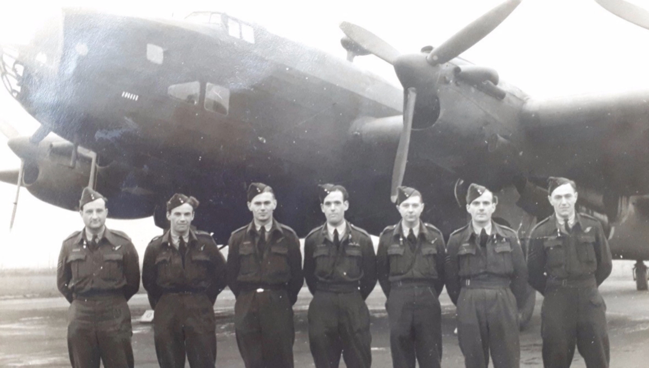 Crew Of Crashed WWII Halifax Bomber Remembered