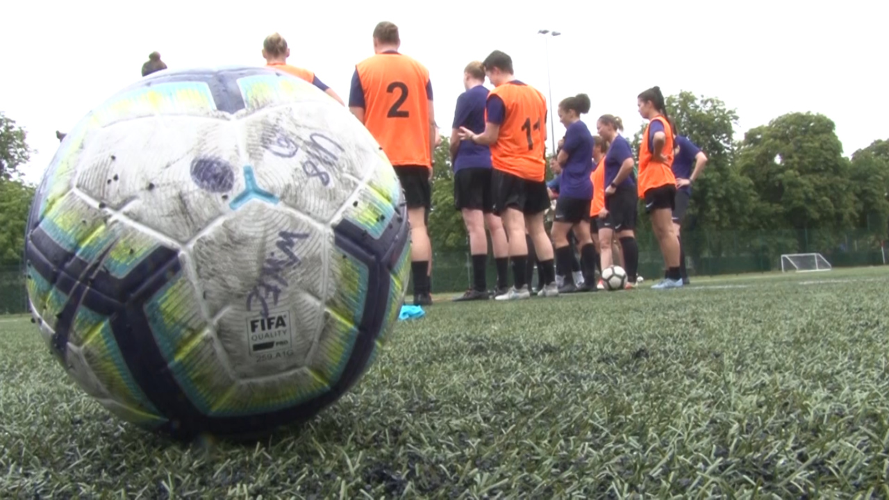 UKAF Women's Football Squad 'Excited' For New Regime