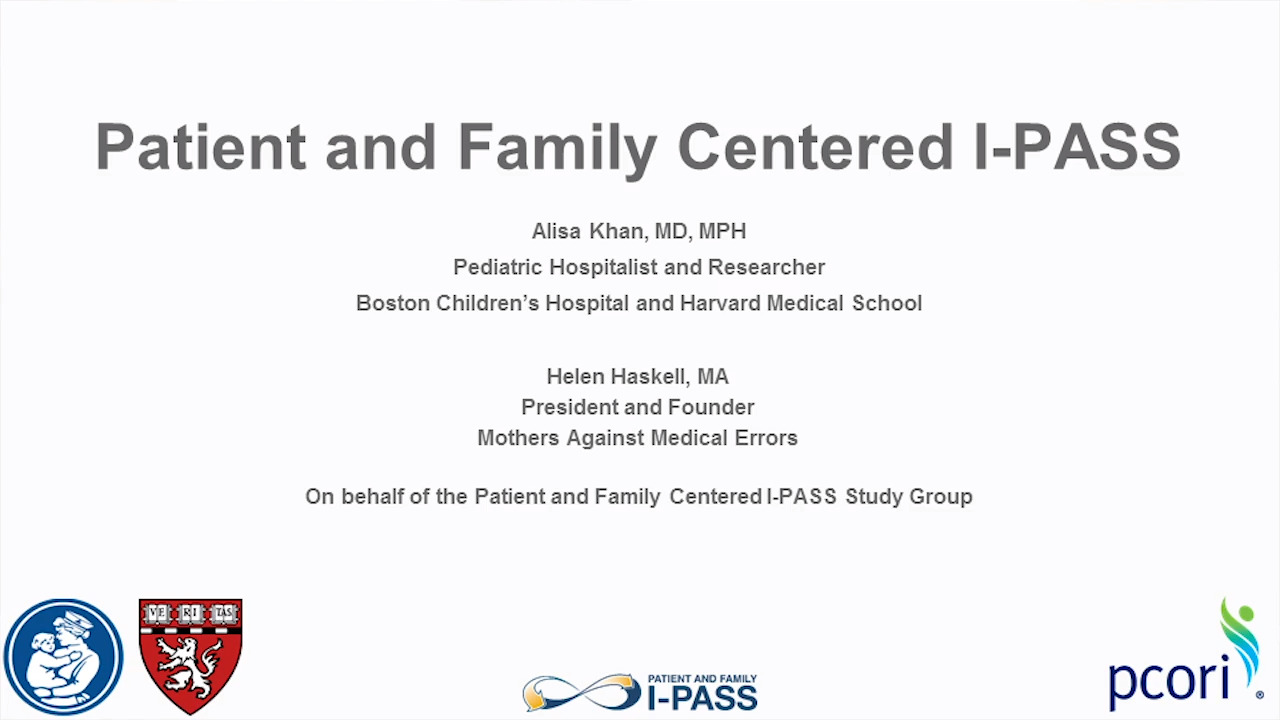 Patient safety after implementation of a coproduced family centered