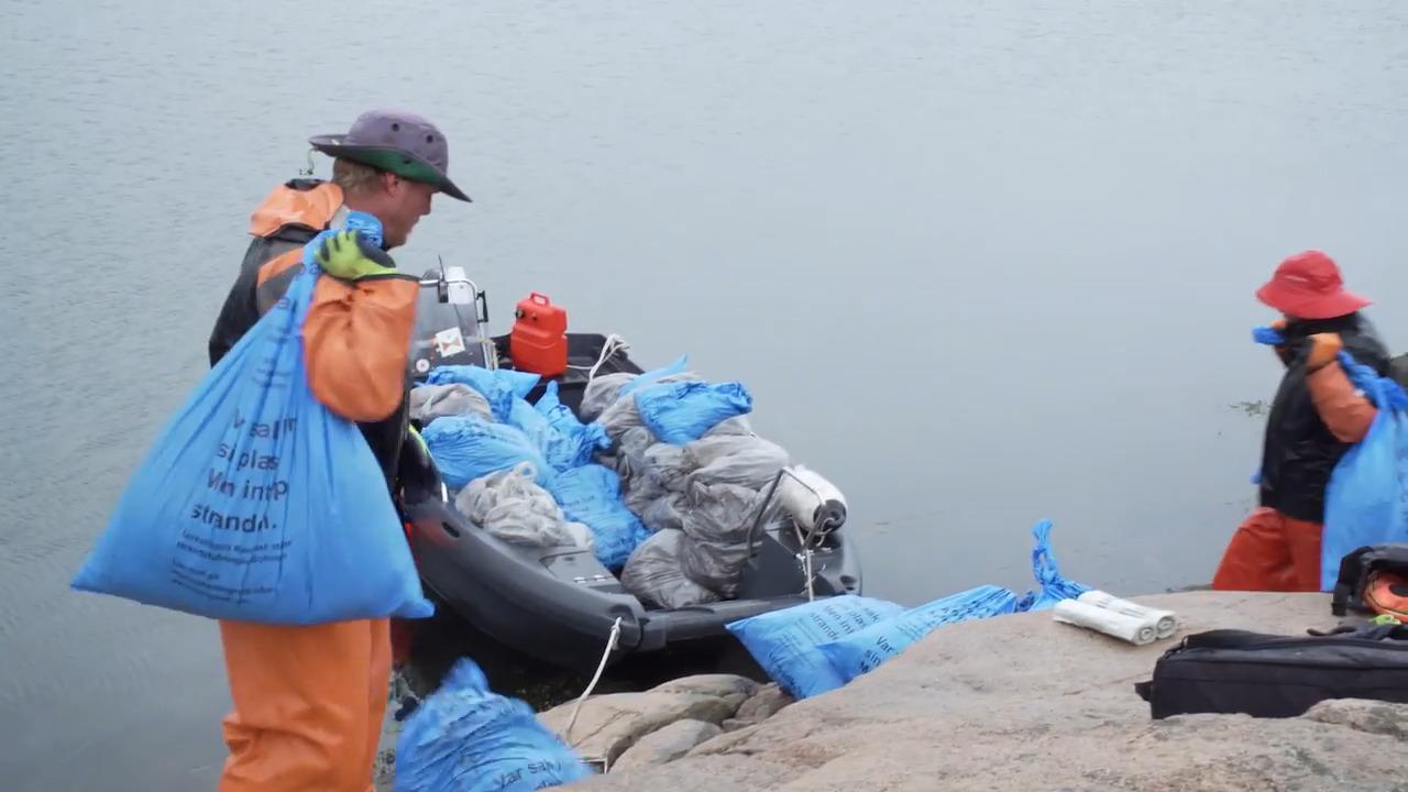 Hur mycket plast finns det i havet?