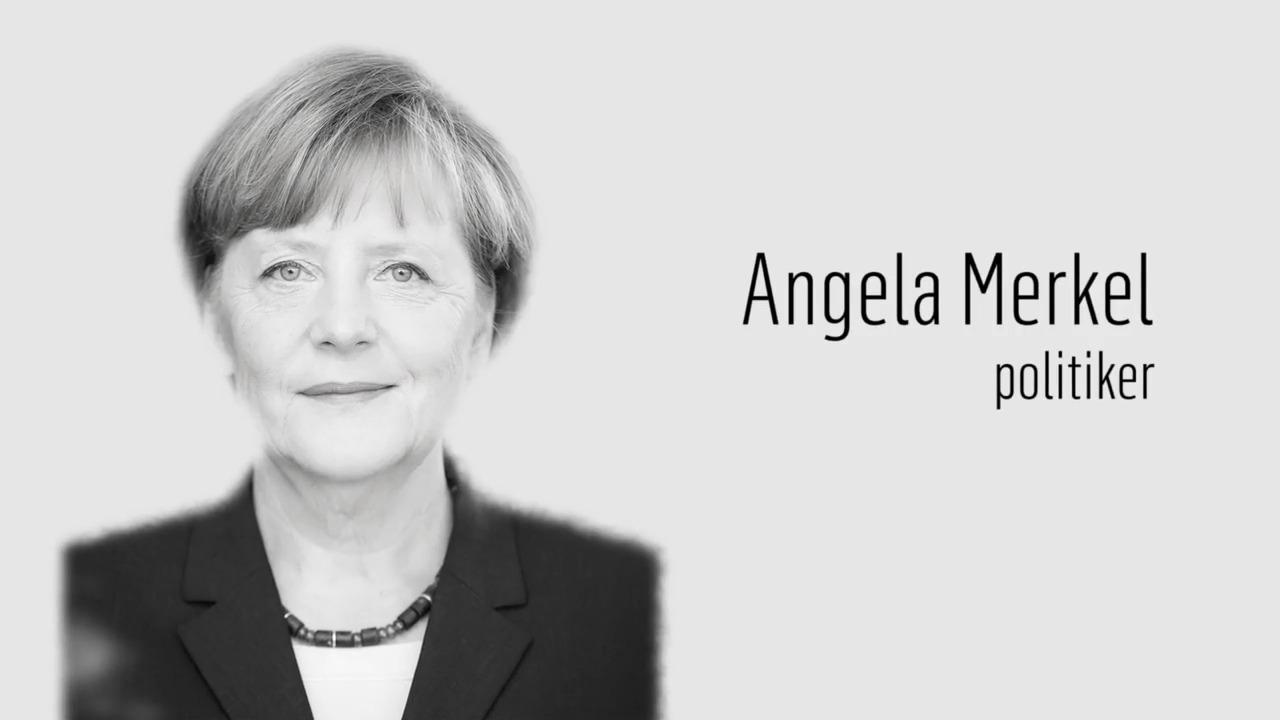 Berömda kvinnor – förr och nu: Angela Merkel