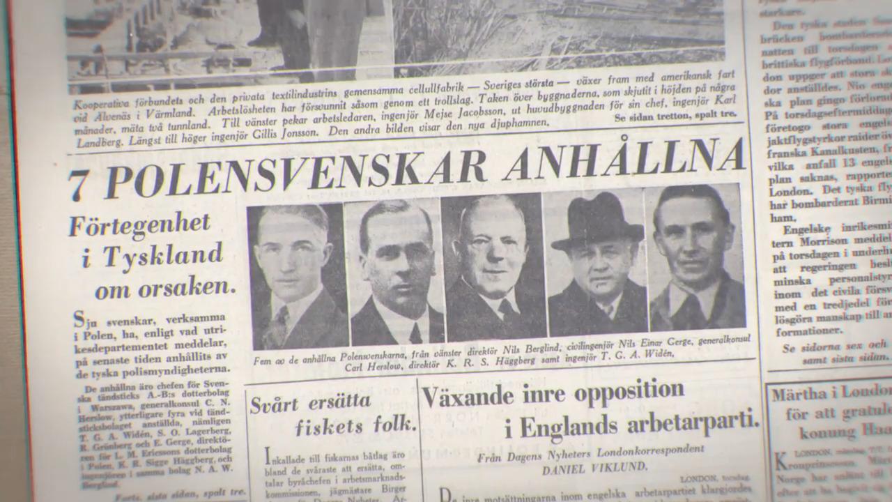 Hitlers dödsdömda svenskar